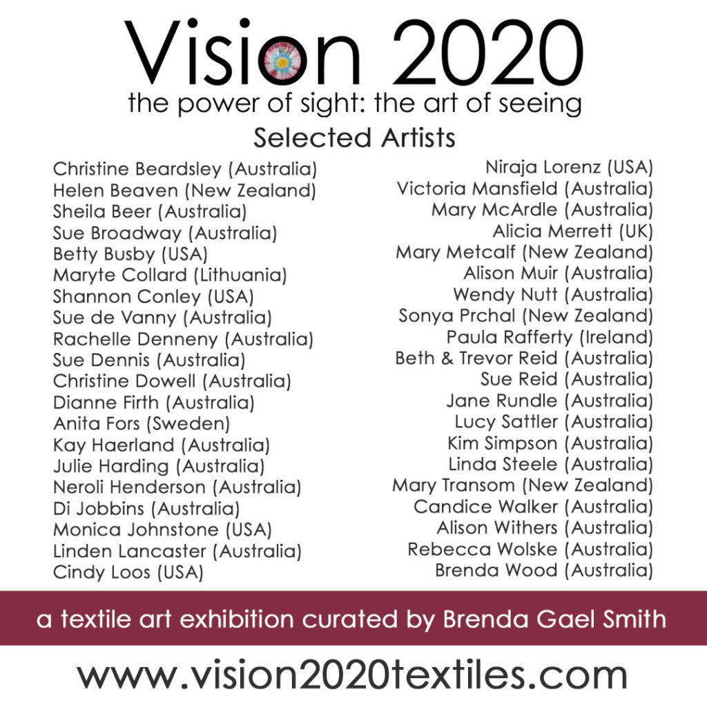 Vision 2020 Artists